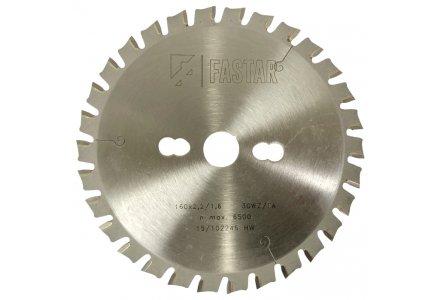 Fastar HM cirkelzaagblad 160x20x30 2,2/1,6 WZ/FA