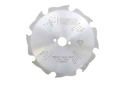 Diamant cirkelzaagblad voor vezelcementplaten 160x20x8 2,2/1,6