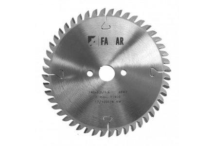 Fastar HM cirkelzaagblad 190x20x30 2,6/1,6 wisseltand