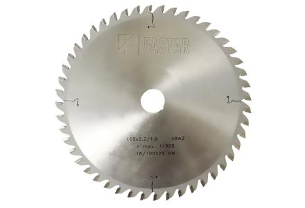 Fastar HM cirkelzaagblad 165x20x48 2,2/1,5 wisseltand