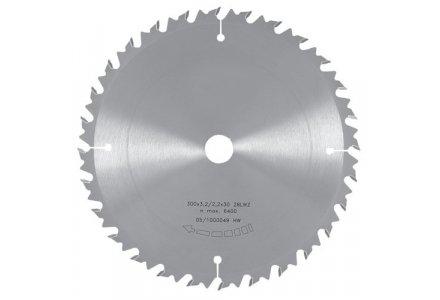 Fastar HM cirkelzaagblad 250x30x24 3.2/2.2 wisseltand met spaanbreker
