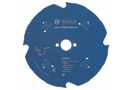 Bosch cirkelzaagblad 160x20x4 Expert for Fibre cement
