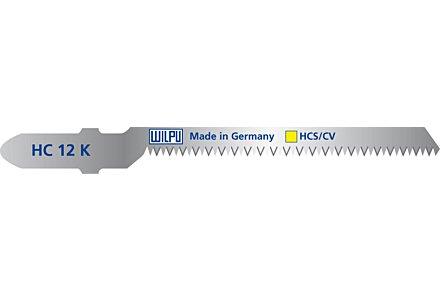 Wilpu HC 12 K decoupeerzaagblad hout en kunststof (Bosch T101AO) 5 stuks