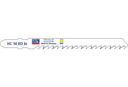 Wilpu HC 14 XD bi decoupeerzaagblad hout (2-stuks)