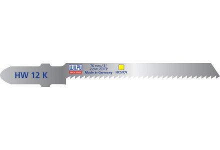 Wilpu HW 12 K decoupeerzaagblad zacht hout en isolatiemateriaal (Bosch T119BO) 5 stuks