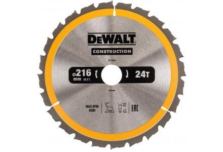 DeWalt DWS774 zaagblad 216x30x24 tanden