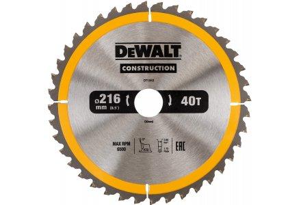 DeWalt DWS774 zaagblad 216x30x40 tanden
