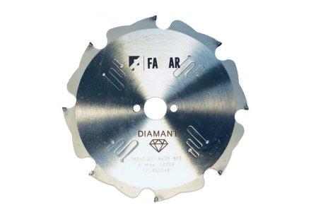 Diamant cirkelzaagblad voor vezelcementplaten 216x30x12 2,2/1,6