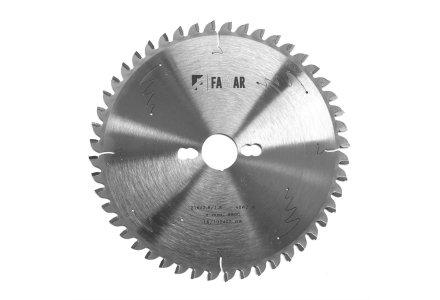 Fastar HM cirkelzaagblad 260x30x60 2.5/1.8 wisseltand negatief