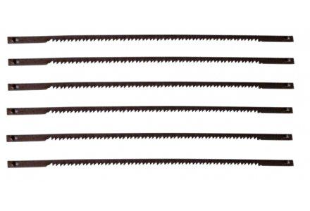 Figuurzaagbladen hout 18tpi 135mm voor stationaire figuurzaag 6 stuks