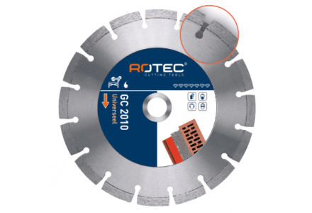 Rotec GC 2010 diamantzaagblad Beton/Universeel 125 mm (Asgat 22,2)