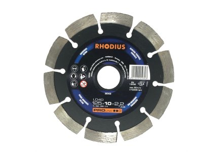 Rhodius LD40 universeel diamantzaagblad 125mm