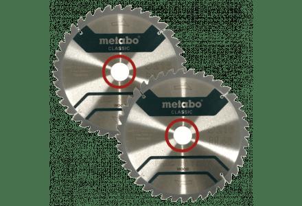 Metabo KGS 216 zaagblad 216x30x40 tanden - 2 pack