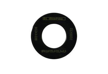 Pasring van 25,4 naar 22,2mm (42x3,5/1,5x25,4/22,2)