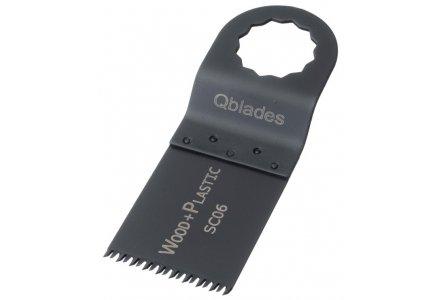 Qblades SC06 34x40mm multitool zaagblad Hout Standaard (Supercut)