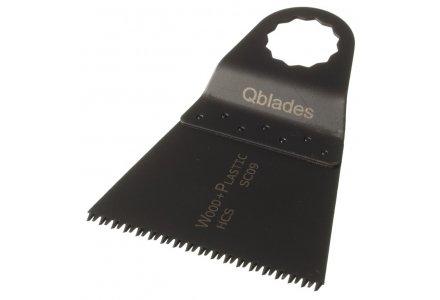 Qblades SC09 68x42mm multitool zaagblad Hout Precision (Supercut)