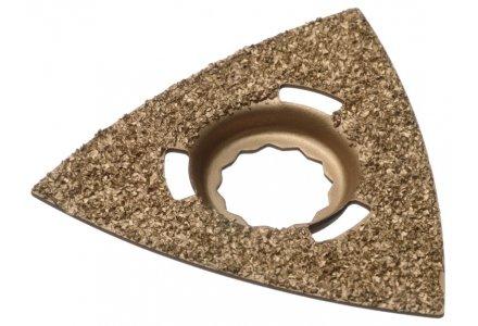 Qblades SC40 multitool hardmetalen slijpdriehoek Steen en Beton 80mm  (Supercut)