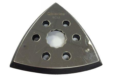 Qblades SC52 multitool Schuurvoet Driehoek geperforeerd - 93mm  (SuperCut) per 2-stuks