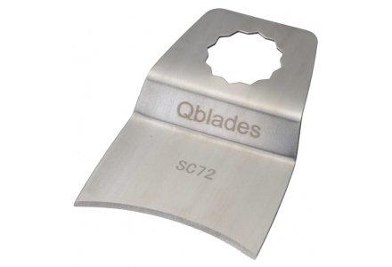 Qblades SC72 multitool Segmentmes Concaaf- Kit en Lijm - 52mm  (SuperCut)