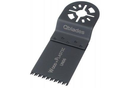 Qblades UN06 34x40mm multitool zaagblad Hout Standaard (Universeel)