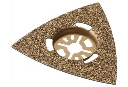 Qblades UN40 multitool hardmetalen slijpdriehoek Steen en Beton 80mm  (Universeel)