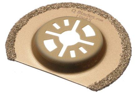 Qblades UN45 multitool hardmetalen segmentzaagblad Steen en Beton 63mm  (Universeel)