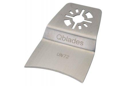 Qblades UN72 multitool Segmentmes Concaaf - Kit en Lijm - 52mm  (Universeel)