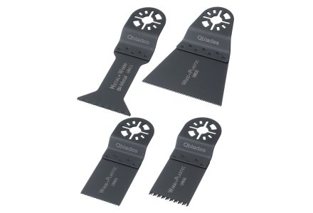 Qblades UN92 multitool zaagbladenset Hout en Metaal 4-delig (Universeel)