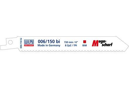 Wilpu 006-150 reciprozaagblad