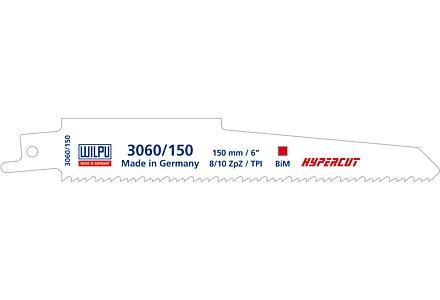 Wilpu 3060/225 reciprozaagblad HYPERCUT (Bosch S1130CF) per 3 stuks
