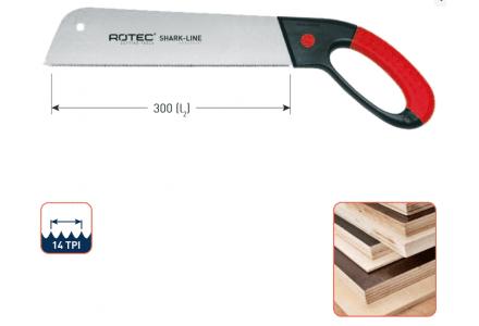 Rotec Shark-Line handzaag SL1