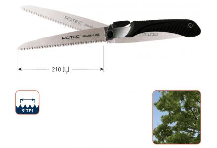 Rotec Shark-Line opvouwbare handzaag SL6