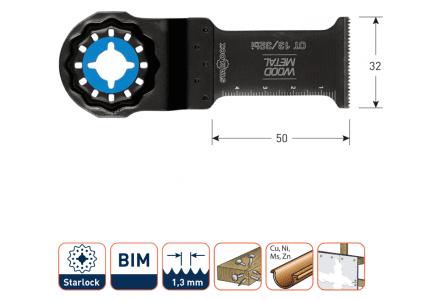 Starlock OT13/32bi multitool zaagblad Metaal (per 5-stuks)