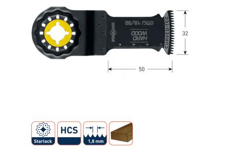 Starlock OTKJ 18-32 multitool zaagblad
