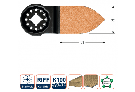 Starlock OTS32K10 multitool schuurvinger