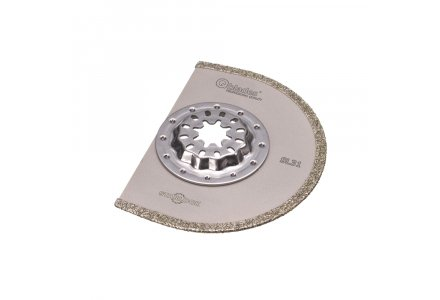 Qblades SL31 multitool diamant segmentzaagblad Steen en Beton 90mm  (Starlock)