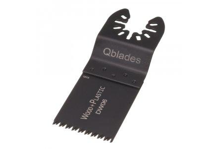 Qblades DW06 34x40mm multitool zaagblad Hout Precision (DeWalt)