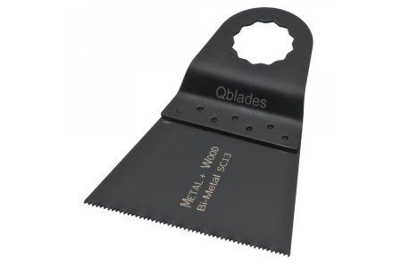 Qblades UN15 28x60mm multitool Bi-metalen zaagblad Hout en Metaal (Universeel)