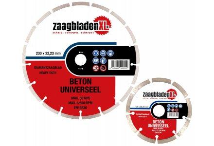 Zaagbladenxl diamantzaagbladen set 125 en 230mm