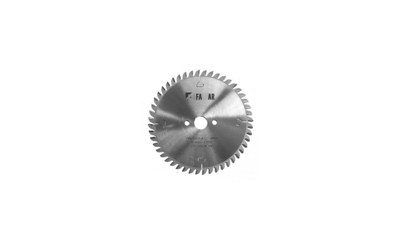 Fastar HM cirkelzaagblad 170x30x40 2,6/1,6 wisseltand