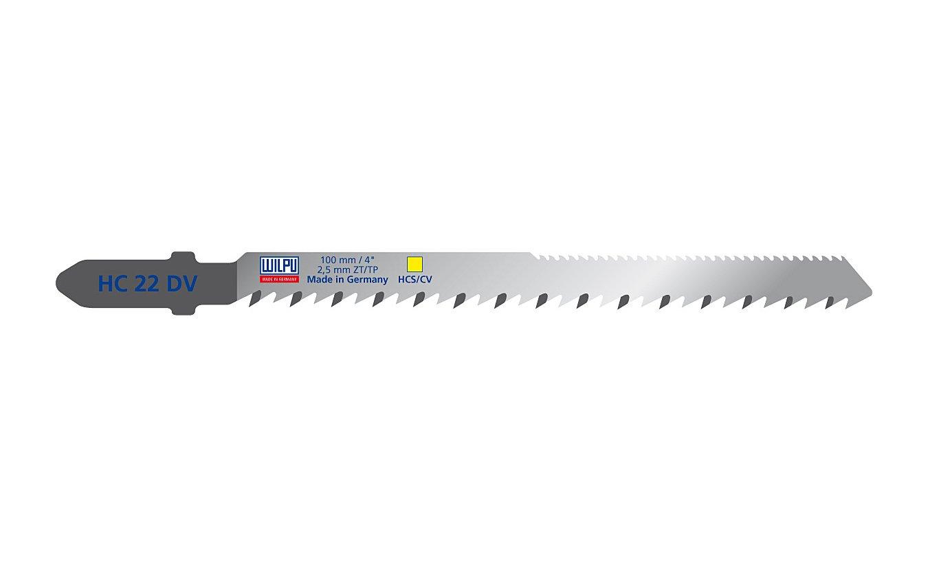 Wilpu HC 22 DV decoupeerzaagblad spaanplaat en multiplex (5-stuks)