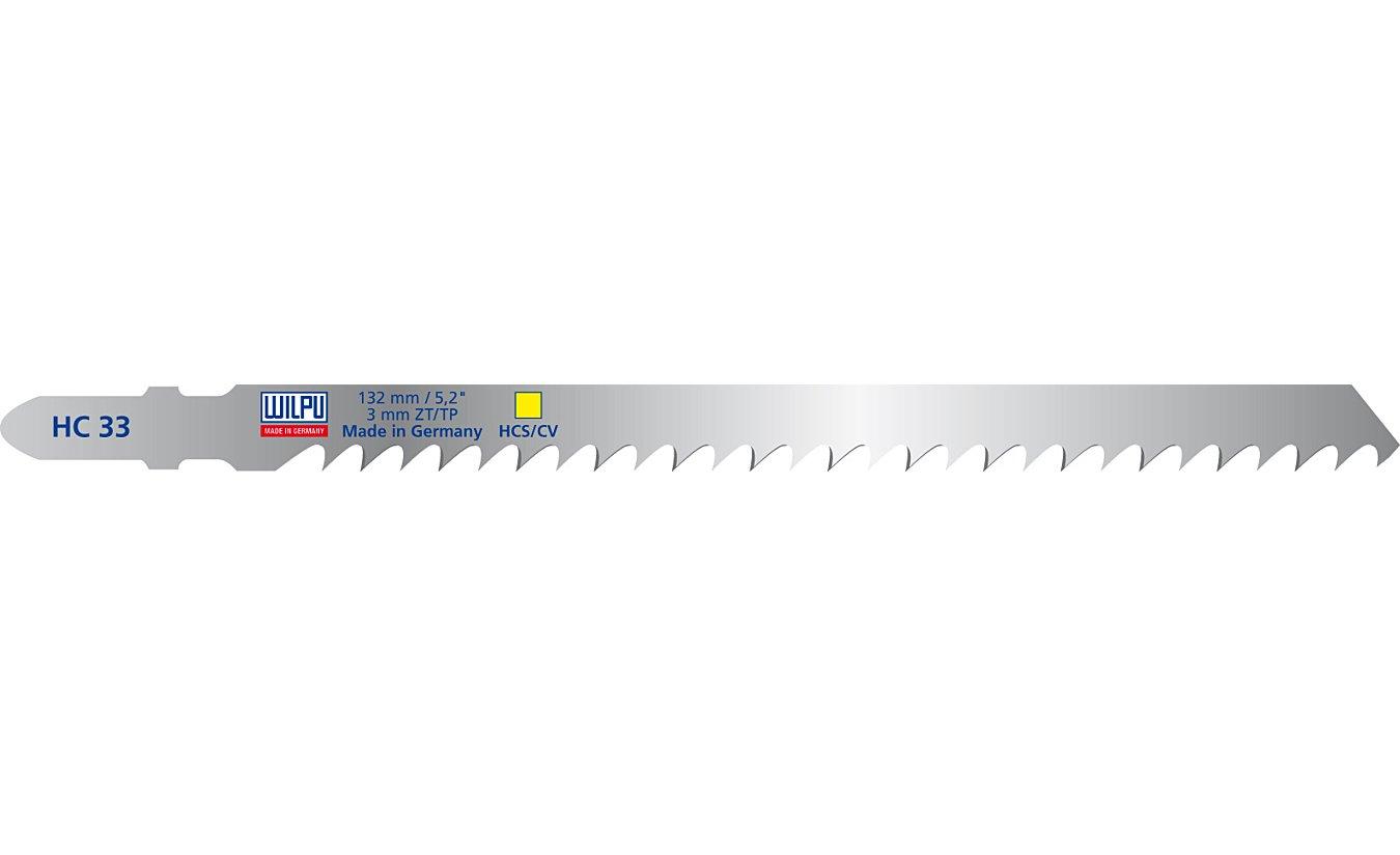 Wilpu HC 33 decoupeerzaagblad hout en kunststof (Bosch T301CD) 5 stuks