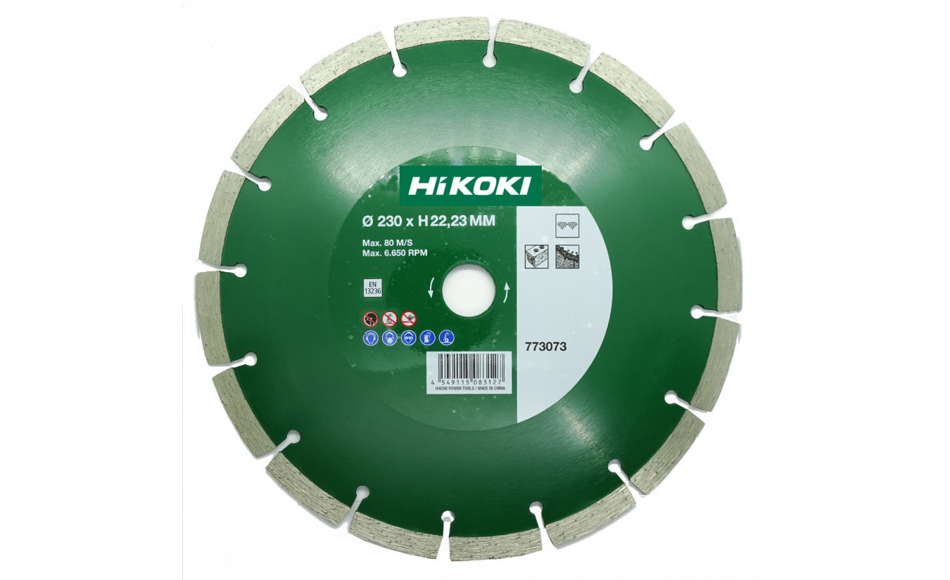 Hikoki diamant zaagblad 230mm